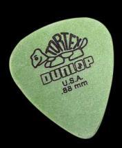 Dunlop Mediator Tortex 0.88mm Vert