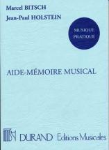 Bitsch Marcel - Aide-memoire Musical  (holstein)