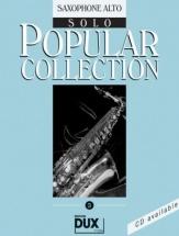 Popular Collection 3 - Saxophone Alto + Cd