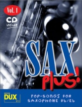Sax Plus! Vol.1 - Pop Songs For Saxophone + Cd