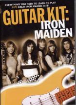 Dvd Guitar Kit Iron Maiden