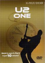 U2 - One - Dvd 10-minute Teacher - Guitare