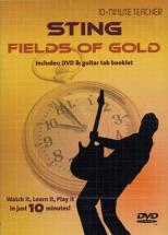 Sting - Fields Of Gold - Dvd 10-minute Teacher - Guitare