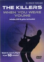 Killers (the) - When You Were Young - Dvd 10-minute Teacher - Guitare