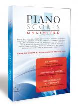 Ipe Music Piano Scores - 630 Partitions Pour Piano Sur Dvd-rom