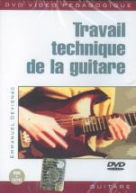 Devignac Emmanuel - Travail Technique De Guitare - Guitare
