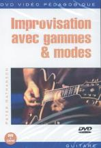 Nathanson P. - Improv Avec Gamme Et Modes - Guitare