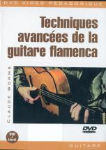 Worms Claude - Techniques Avancees Guitare Flamenco
