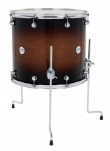 Dw Drum Workshop Tom Sur Pieds Design Black Satin