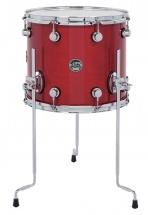 Dw Drum Workshop Tom Sur Pieds Performance Lacquer Candy Apple Red