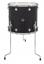 Dw Drum Workshop Tom Basse 18x16 Performance Lacquer Ebony Stain