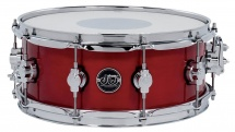 Dw Drum Workshop Caisse Claire Performance Lacquer Candy Apple Red