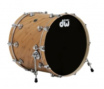 Dw Drum Workshop Grosse Caisse Eco-x Naturel 20 X 18