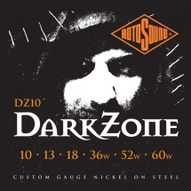 Rotosound Dark Zone 10 13 18 36 52 60