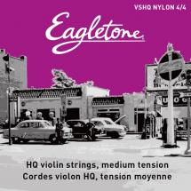 Eagletone Violon 4/4 Vshq Nylon Jeu De Cordes