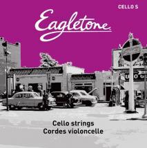 Eagletone Violoncelle 4/4 Jeu De Cordes Cello S