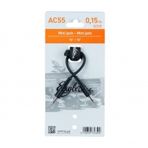 Eagletone Ac55 - Mini Jack Mono 3.5 - 15cm - Noir