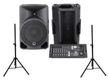 Eagletone Eps12 Live 2x200w + Paire Stands St35b