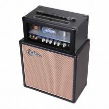 Eagletone Raging 5 Hst 5hst Ampli Guitare A Lampes Halfstack Half Stack 2 Corps Tete + Baffle Enceinte Cab Cabinet 5 Watts Ruby Celestion