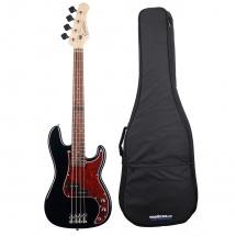 Eagletone Sun State Bass P Junior Noire + Housse