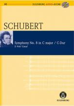 Schubert Franz - Symphonie N°8 C Major + Cd - Study Score
