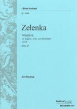 Zelenka J.d. - Miserere C-moll Zwv 57 - Piano Reduction