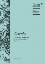 Zelenka - Missa Dei Patris In C Major Zwv 19 - Vocal Score
