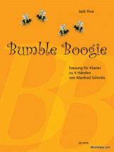 Fina Jack - Bumble Boogie - Piano 4 Mains