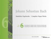 Bach J.s. - Complete Organ Works Vol.6 - Clavierübung Iii / Schübler-choräle / Canonische Veränderun