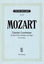 Mozart Wolfgang Amadeus - Litaniae Lauretanae Kv 195 - Piano