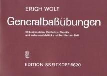 Wolf E. - Generalbass-übungen - Clavecin