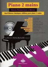 9 Themes Classiques Celebres + Cd Vol.2 - Piano 2 Mains