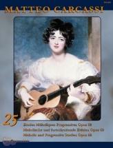 Carcassi Matteo - 25 Etudes Melodiques Progressives Op.60 - Guitare