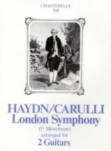 Haydn / Carulli - London Symphony - 2 Guitares