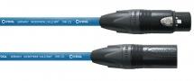 Cordial Cable Micro Xlr 10 M Bleu
