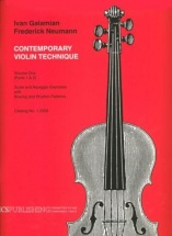 The Galamian Contemporary Violin Technique Vol.2