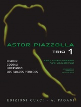 Piazzolla Astor - Trio Vol.1 - Flute, Violon and Piano