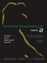 Piazzolla Astor - Trio Vol.2 - Flute, Violon and Piano