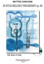 Carcassi - 25 Studies - Guitar