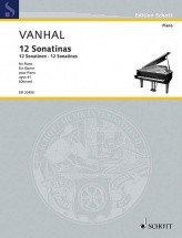 Vanhal J.b. - 12 Easy And Progressive Sonatinas Op. 41 - Piano