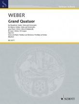 Weber C.m. - Grand Quatuor B Flat Major Wev P.5 - Musique De Chambre