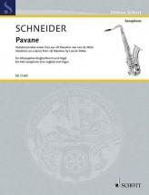 Schneider E. - Pavane - Saxophone