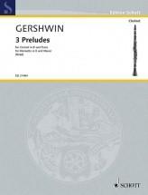 Gershwin G. - 3 Preludes - Clarinette