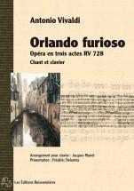Vivaldi A. - Orlando Furioso - Chant-piano