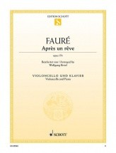 Faure G. - Aprs Un Rve Op. 7/1 - Violoncelle