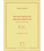 Ravel M. - Pavane Pour Une Infante Defunte - Flute Et Piano