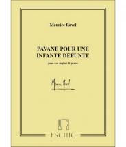 Ravel M. - Pavane Pour Une Infante Defunte - Cor Anglais Et Piano