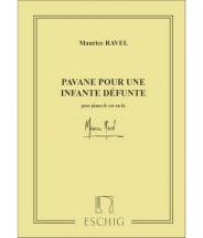 Ravel M. - Pavane Pour Une Infante Defunte - Cor Et Piano