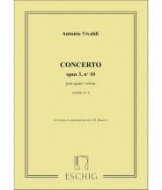 Vivaldi - Concerto Op 3 N 10 - Violon Iv