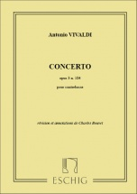 Vivaldi - Concerto Op 3 N 10 - Contrebasse